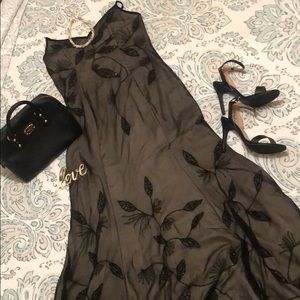 💕 SUMEER by SN fashion BLACK FORMAL DRESS SIZE L